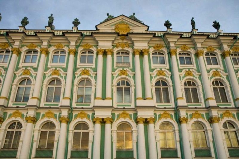 Fachada del museo Hermitage