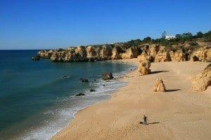 Las playas del Algarve son famosas