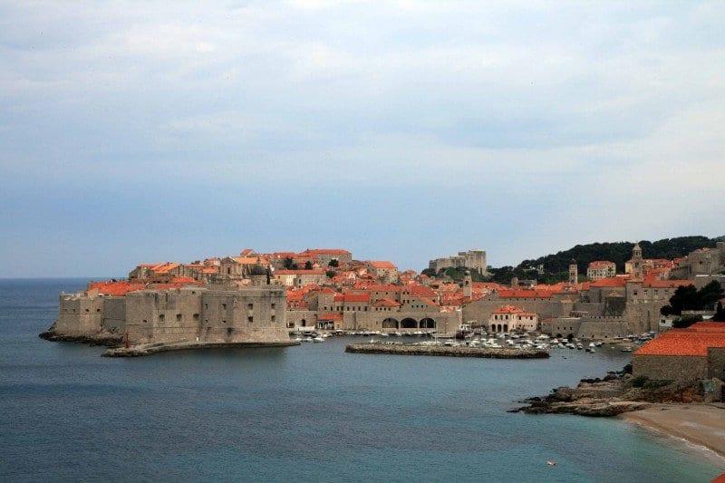 Dubrovnik, ciudad víctima de grandes bombardeos durante la guerra de los Balcanes