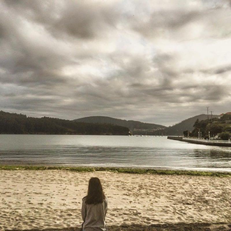 Atardecer en Cedeira, al norte de A Coruña