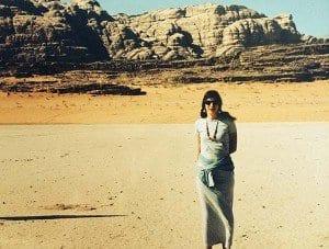 La Viajera Empedernida en Wadi Run