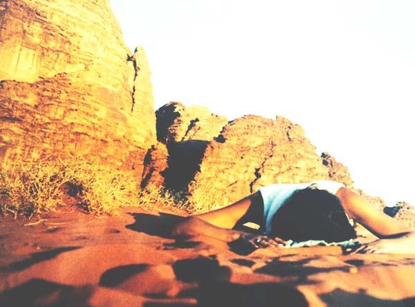 Jordania wadi rum descanso baja