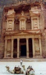 Petra tesoro fachada