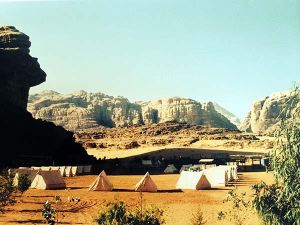 jordania Wadi Rum Campamento baja