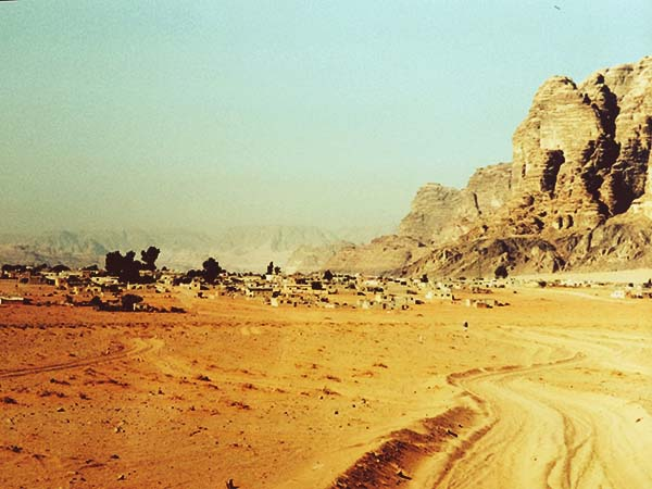 jordania wadi rum aldea