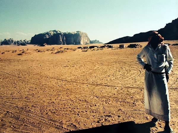 jordania wadi rum beduino baja
