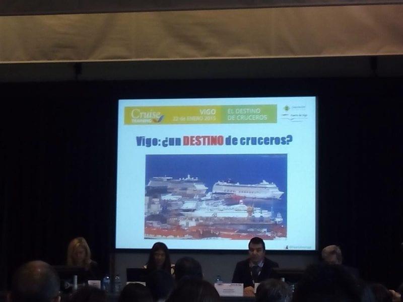 Formación sobre sector cruceros impartida en Vigo