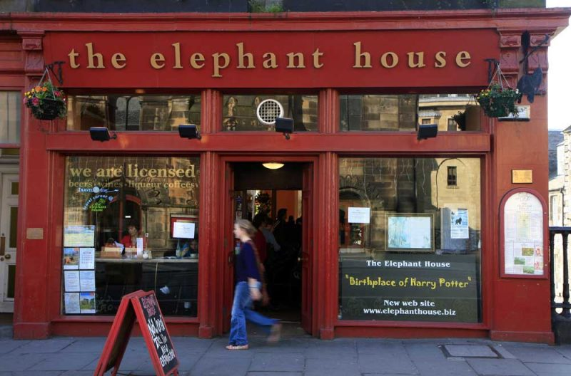 The Elephant house, el café donde nació Harry Potter
