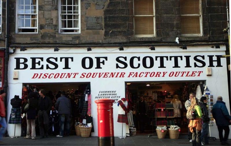 Edimburgo souvenirs 139