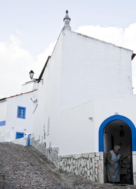 Detalle de una vivienda en Brotas