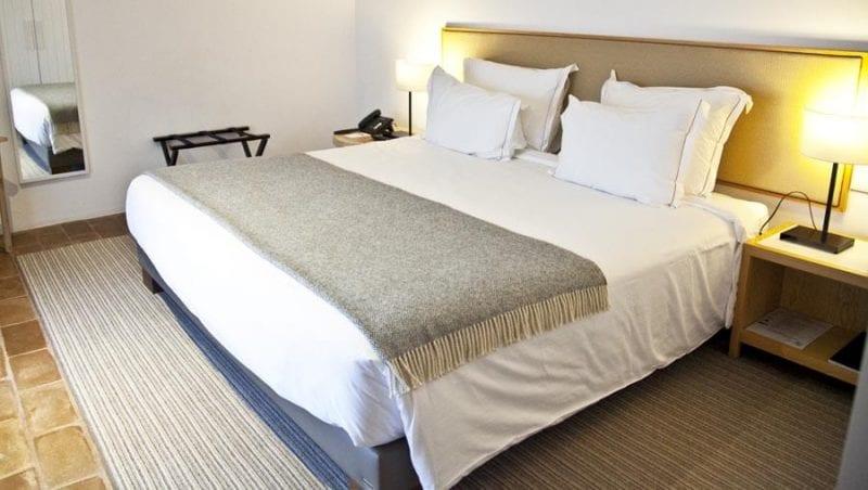 Detalle habitación del Ecork Hotel