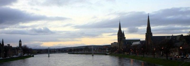 Panorámica de Inverness