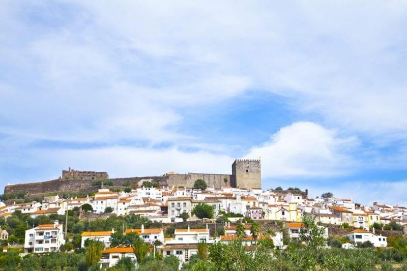 Panorámica de Castelo de Vide
