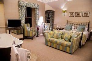 Suite en el hotel Mercure de Aberdeen