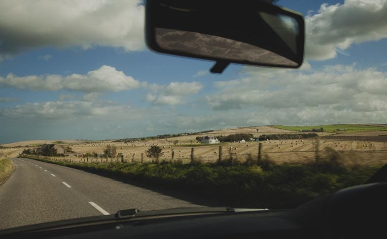 Carreteras panorámicas en Escocia