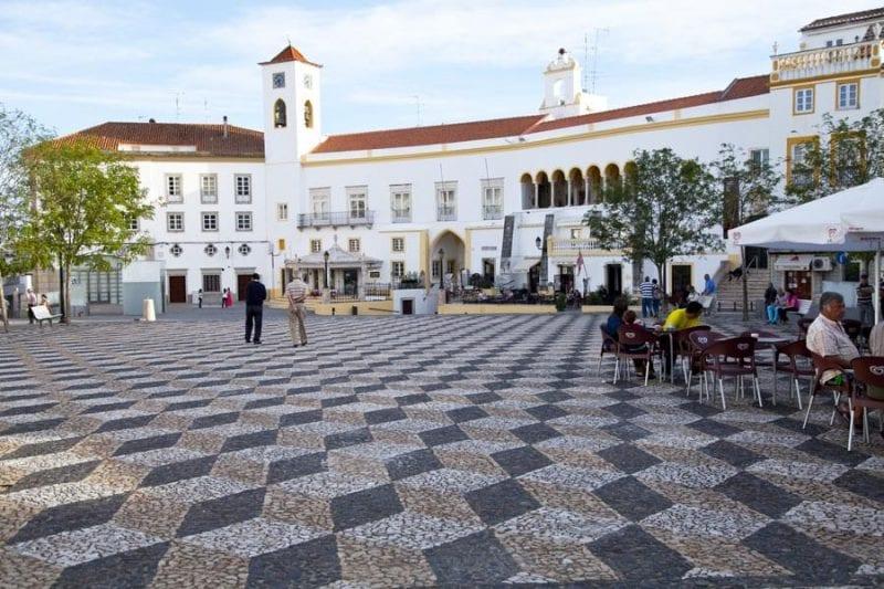 Plaza de la República, de Elvas