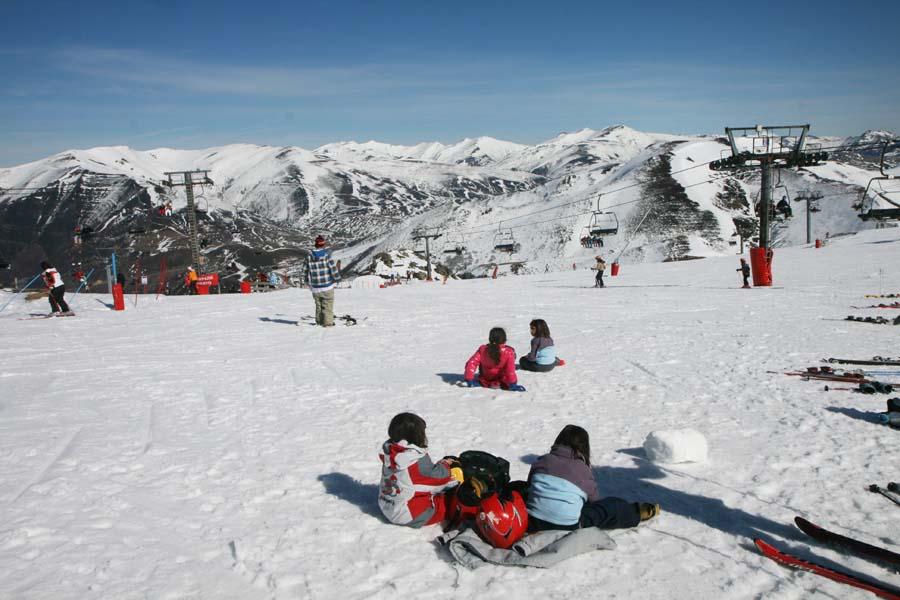 Estación de esquí de Pajares