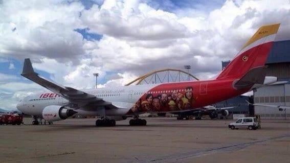 avion-españa seleccion iberia