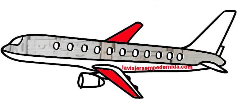 Avión laviajeraempedernida.com