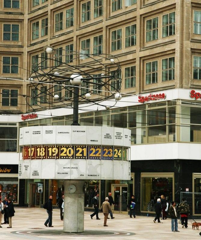 Reloj mundial de Alexander Platz