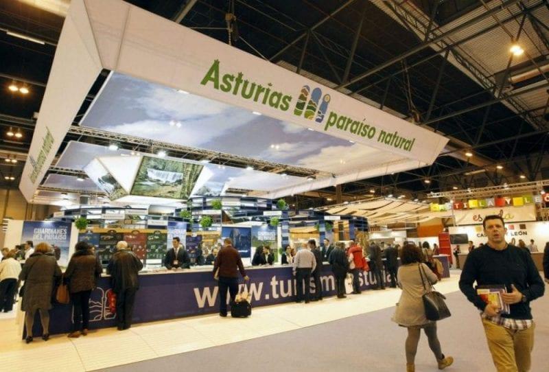 Stand de Asturias en la pasada edición de Fitur
