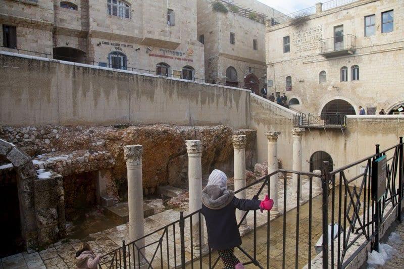 Imagen del cardo romano de Jerusalén