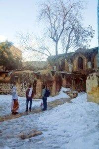 Templo etíope en el Santo Sepulcro