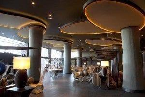 Hall del hotel Lopesan Baobab en Maspalomas. Gran Canaria