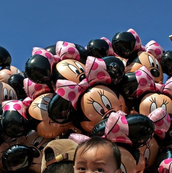 Disenyland Paris globos