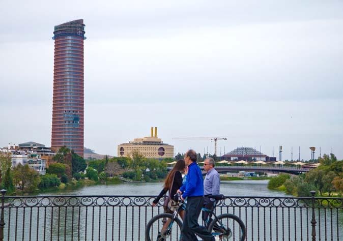 La torre Cajasol de Sevilla