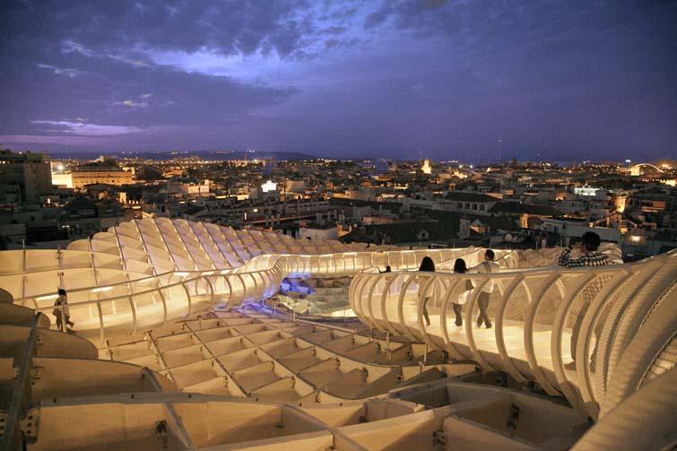 Vistas de Sevilla desde la seta