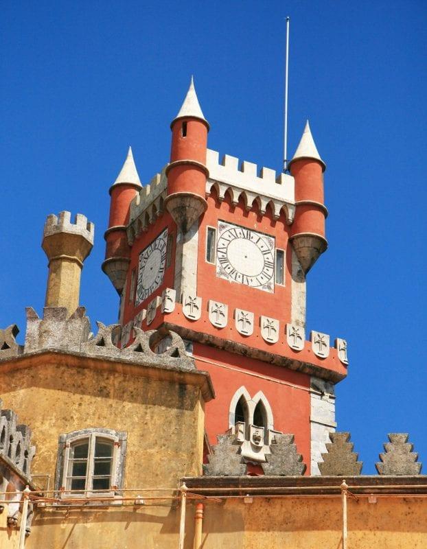 El Palacio da Pena tiene detalles dignos de un cuento de hadas