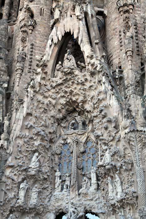 Detalle de la fachada del nacimiento