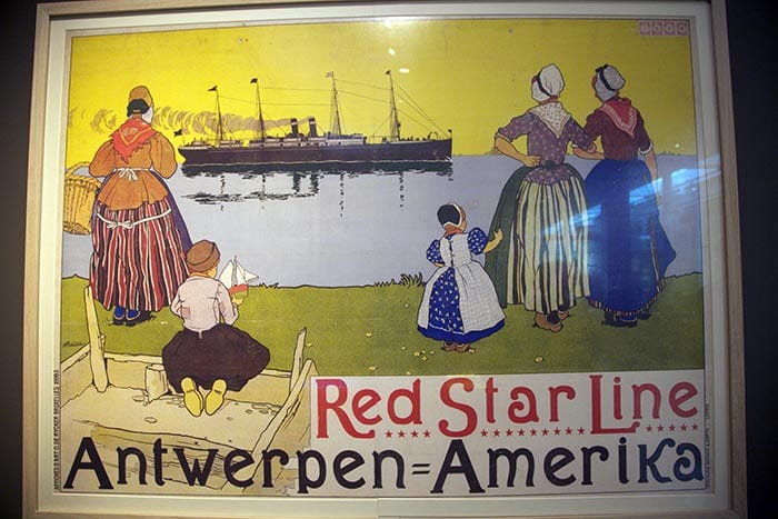 Museo Red Star Line cartel