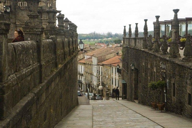 Santiago de Compostela callejuela