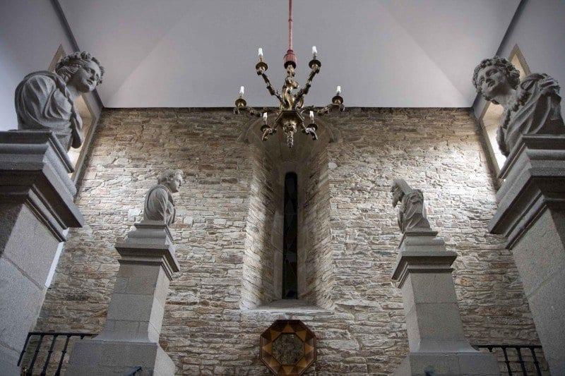 Santiago de Compostela escalera parador