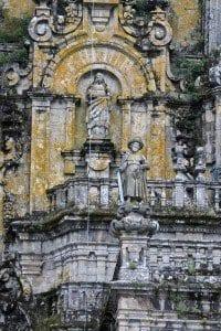 Santiago de Compostela escultura Santiago