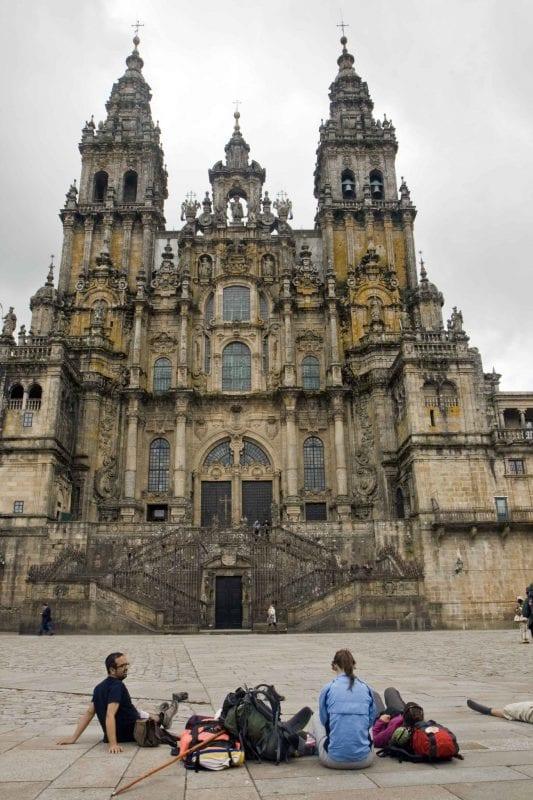 Catedral de Santiago y plaza del Obradoiro