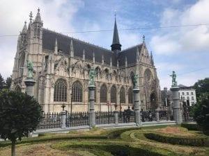 La iglesia de Notre Dame marca el comienzo del barrio del Sablon