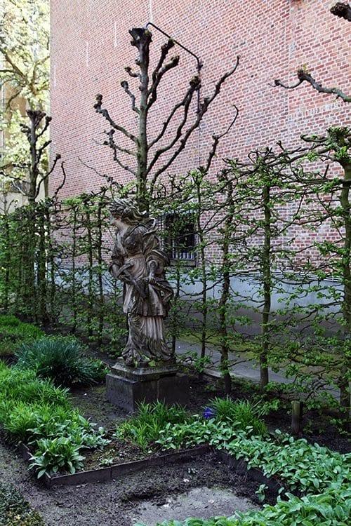 Los jardines de la casa de Rubens merecen una visita