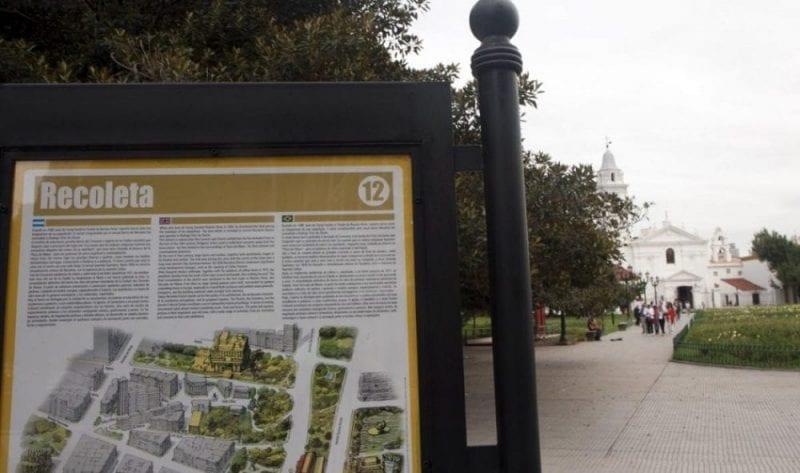 La Recoleta es el barrio más monumental de Buenos Aires