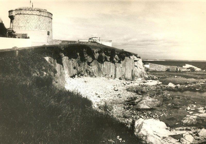 Torre Martello de Sandycove, escenario del primer episodio del Ulises.