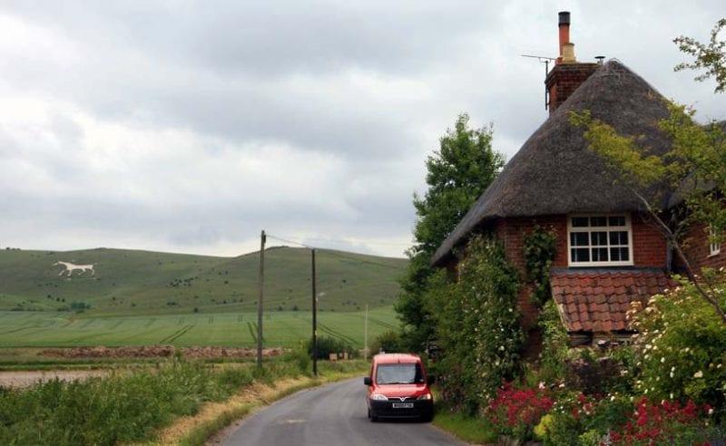 Avebury carretera caballo LVE