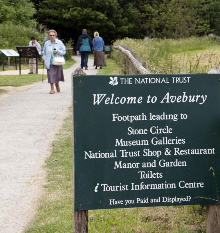 Entrada a Avebury