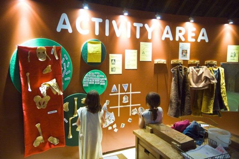 En los museos de Avebury hay zonas para niños