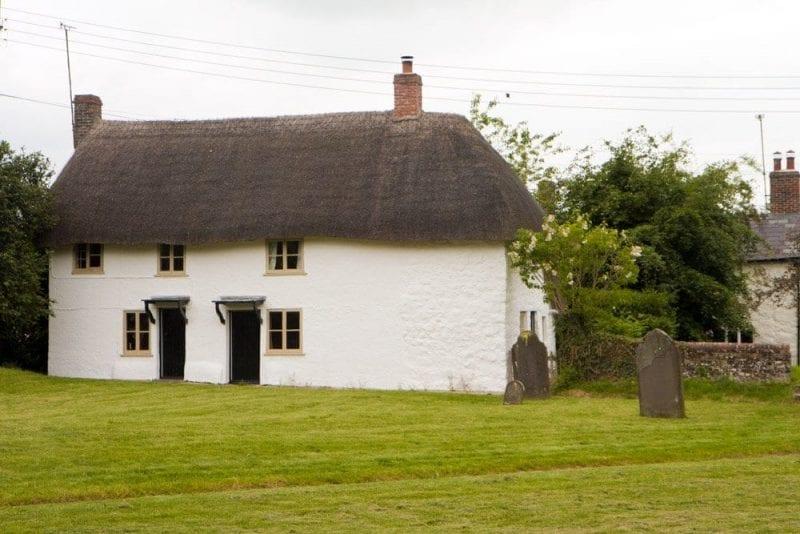 Casas en los alrededores de Avebury