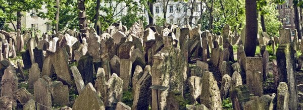 Praga cementerio judío blog
