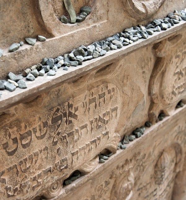 Praga cementerio piedras