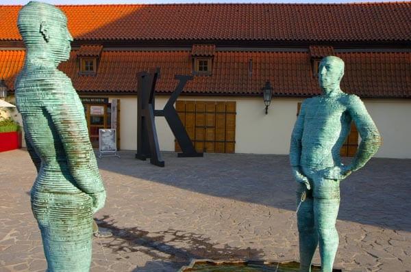 Fachada del Museo Kafka