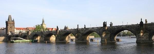 Panorámica del Puente de Carlos de Praga